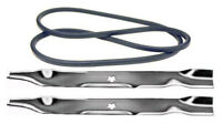 Husqvarna Yth22v42 42 Lawn Mower Deck Maintenance Kit Belt Blades Free Shipping