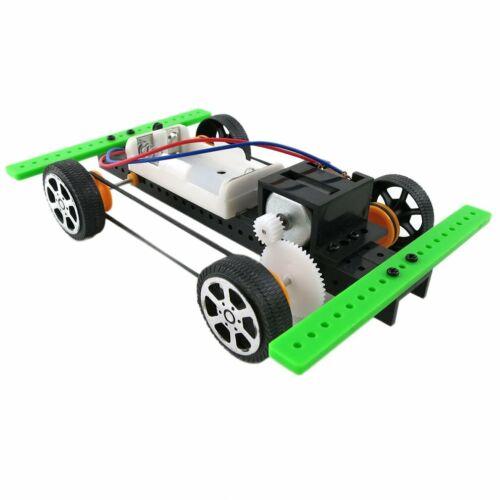 Diy Mini Battery Powered Car Model Kit Children Kids Educational Toy Ay