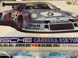 Eidai Grip 1/8 Porsche Carrera RSR Turbo 2.1l Big Scale Model Kit BS-2 Japan
