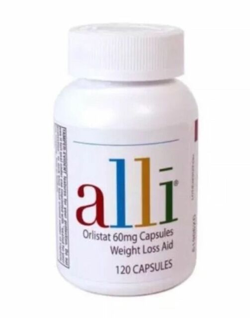 NEW Alli Orlistat 60mg 120 Capsules FACTORY SEALED Exp. 2019 OR BETTER NEW