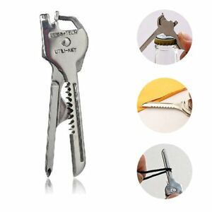 Stainless-Steel-6-in-1-Keychain-EDC-Multi-Tool-Screwdriver-Opener-Key-Chain