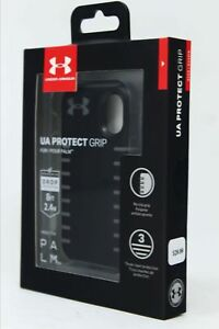 more photos a783e 5bd39 Details about NEW Under Armour UA Protect Grip Case Cover for Verizon Palm  - Gray Black (2018)