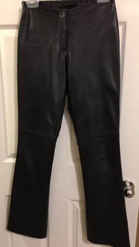 Pantaloni in cache taglia pelle nera 2 wqU8nWqxgr