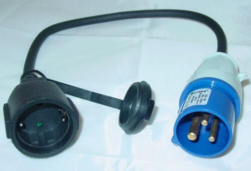 16a Embrayage d21d 40cm capuchon CEE Câble adaptateur avec prise schuko
