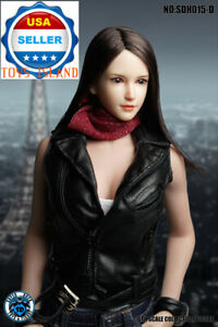 "SUPER DUCK 1//6 female head SDH015 A for Pale Phicen Hot toys 12/"" figure ❶USA❶"