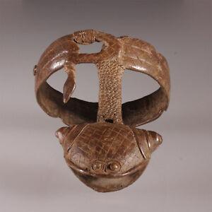 8057-Extraordinaire-bracelet-Gan-Ritual-objet-amulete-culte-Burkina-Faso