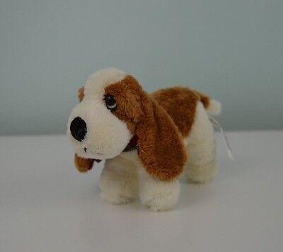 Russ Berrie Hush Puppies Hound Dog Plush Stuffed Animal Red Plaid Mini 5 32614 Ebay