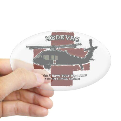 CafePress Medevac T Cafe Press Sticker Sticker Oval 465793082