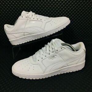 Puma-Sky-II-Mens-Size-9-5-Low-Basketball-Shoes-White