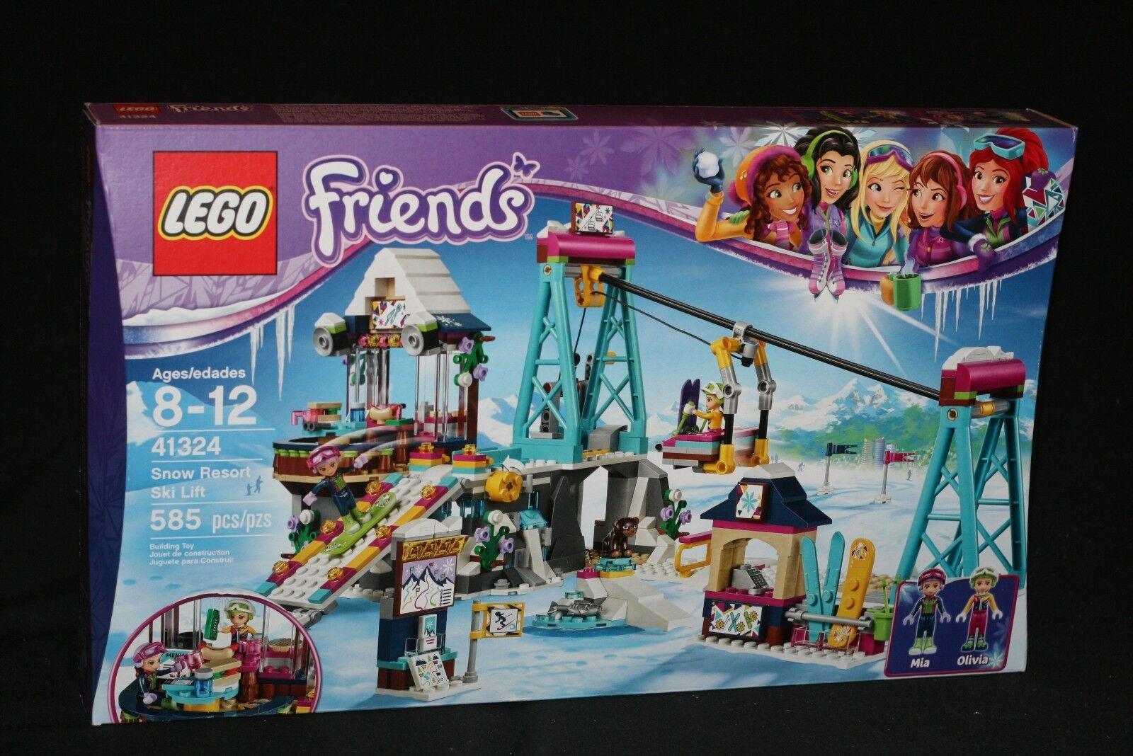 LEGO FRIENDS 41324 SNOW RESORT SKI LIFT (2017) RETIRED NEW SEALED
