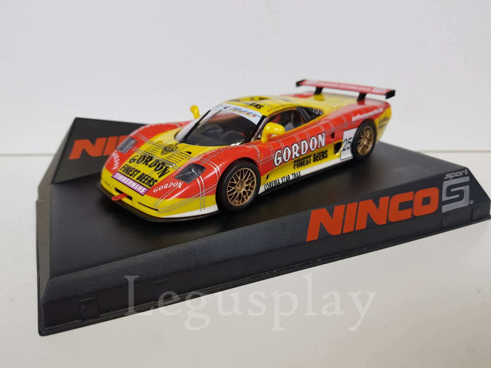 SCX Scalextric Slot Ninco 50576 Mosler MT900R Gordon