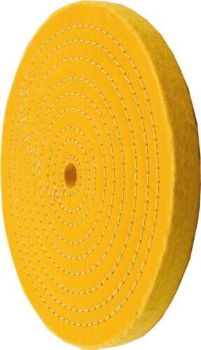 Enkay 156-YC  6-Inch Treated Spiral Sewn Buffing Wheel