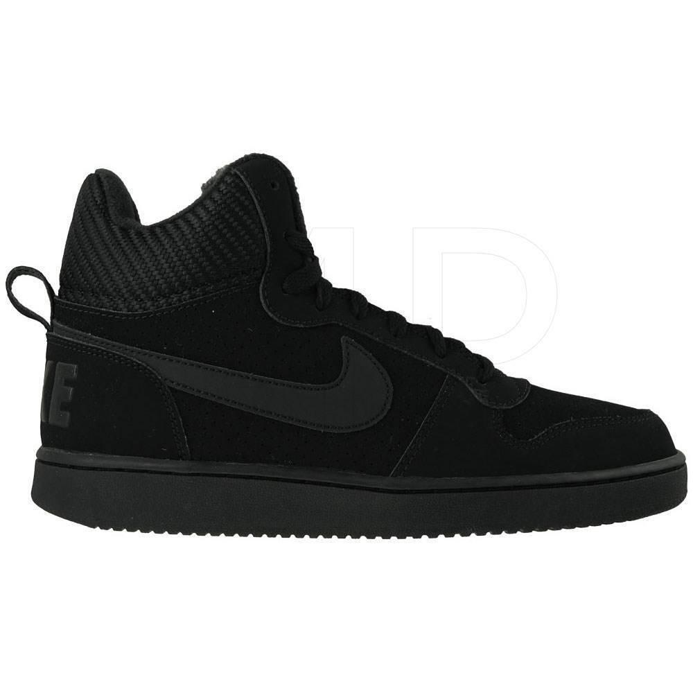 promo code 22f4d eb4df Nike zapatos zapatos zapatos zapatillas zapatos de hombre noche corte  borough negro e3d5d1