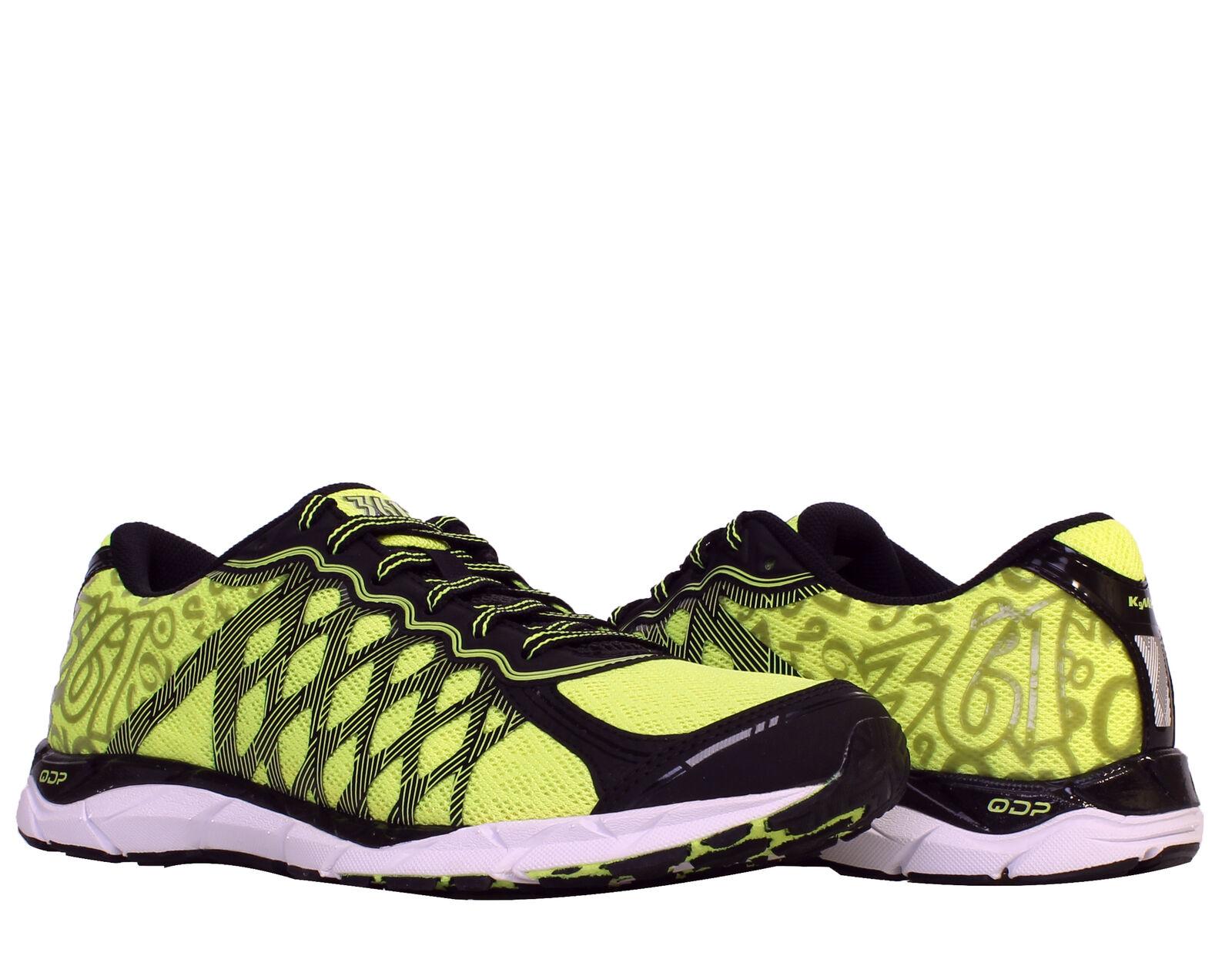 361 KgM2 Black Flash Yellow Men's Running shoes 101610114-1038