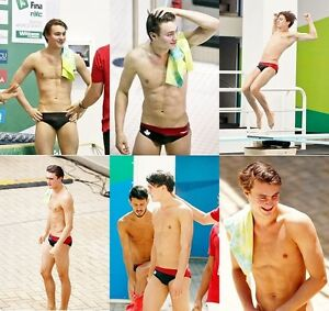 PHILIPPE GAGNE Canadian Diver 6 fantastic A4 sized Colour Photos  Speedos  NEW - Wiltshire, United Kingdom - PHILIPPE GAGNE Canadian Diver 6 fantastic A4 sized Colour Photos  Speedos  NEW - Wiltshire, United Kingdom