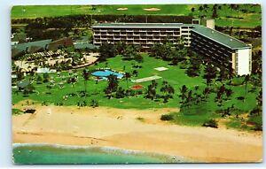 Details About Kaanapali Beach Hotel Maui Near Lahaina Aerial View Hawaii Vintage Postcard C94