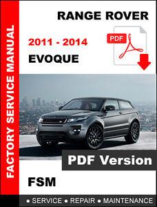 range rover evoque 2011 2014 ultimate service repair manual rh m ebay ie