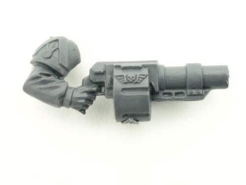 Arm rechts 5x Cadian Command Squad Granatwerfer *BITS*