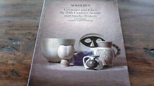 20th Cent Historischer Auktionskatalog Sotheby´s Ceramics And Glass 26.10.89