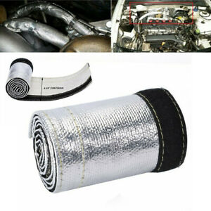 Metallic-Heat-Shield-Sleeve-3ft-2000-Spark-Plug-Wire-Heat-Protector-Insulation