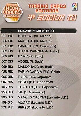 N°427 ESCUDO BADGE LOGO # ALBACETE BALOMPIE CARD PANINI MEGA CRACKS LIGA 2007
