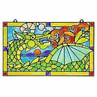 Melissa & Doug Stained Glass Made Easy Craft Kit Dragon 170 Stickers Ships Fast