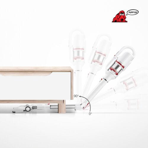 PUPPYOO T10 Mix Ellenbogenrohr Akku-Staubsauger 17,5kPa 250W Bürstenlosen Motor