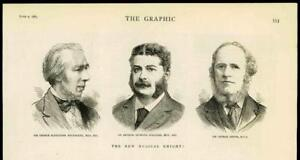 1883-Antique-Print-PORTRAIT-Musical-Knights-Macfarren-Sullivan-Grove-31A