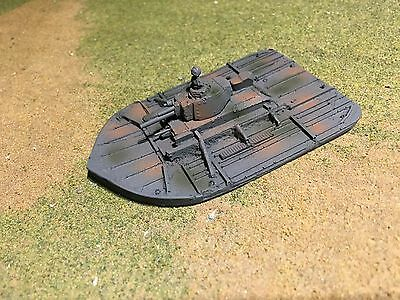 15mm 1//100th WWII German Armed Rivercraft Wargamming Model Type B