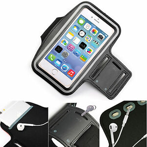Details about Black Sports Armband Phone Case Cover Gym Running FOR TECNO  Camon 11 Pro