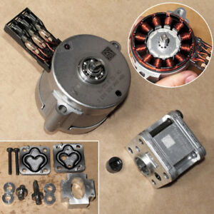 Details About Trw Hydraulic Oil Pump Three Phase Bldc 12v Motor Unit Diy Toy Model Excavator