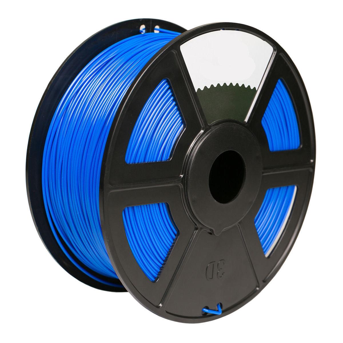 Blue Color 3D Printer Filament 1.75mm 1KG ABS For Print MakerBot RepRap