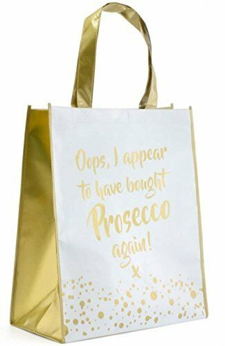 i appear to have bought Prosecco again Gold Edition Shopping Bag Oops