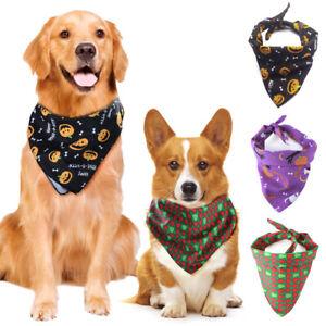 Dog-Neckerchief-Bandana-Neck-Scarf-Collar-Adjustable-Puppy-Pet-Accessory-Shawl-A