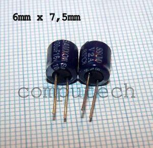 Condensatore ELETTROLITICO 100uF 16V 85C