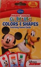 Cards Learning Alphabet DISNEY MICKEY MOUSE Roadster Racers Flash Game Deck