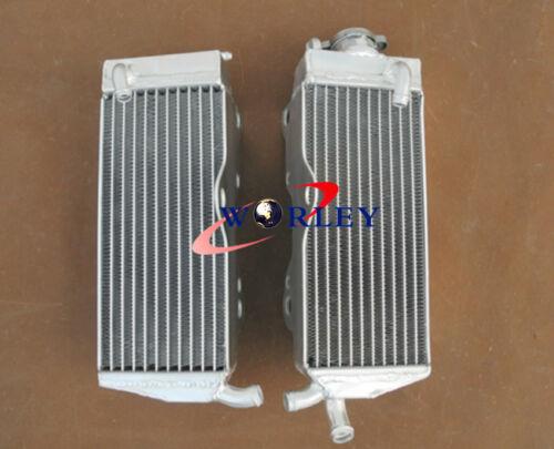 For HONDA CR250R CR250 1990 1991 90 91 Aluminum Radiator /& Blue Hose