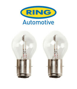 Ring - 6v 25/25w BA20d - S1 - Motorcycle Headlight Bulb - RMU392 - PAIR