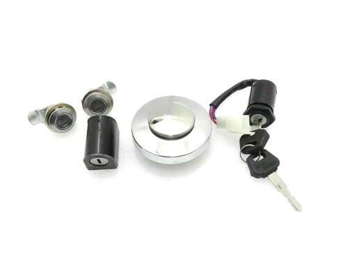 Set Of 5 Locks Set With Common Key Fit For Royal Enfield Bullet 500