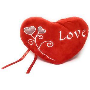 Heart Shaped Flower Love Plush Pillow Stuffed Happy Valentine S Day