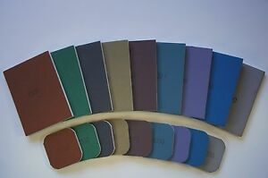 """Micro-Mesh abrasive, Schleifpads, 1500-12000, 2x2"""", 3x4"""",*CHOOSE YOUR SIZE/TYPE*"""