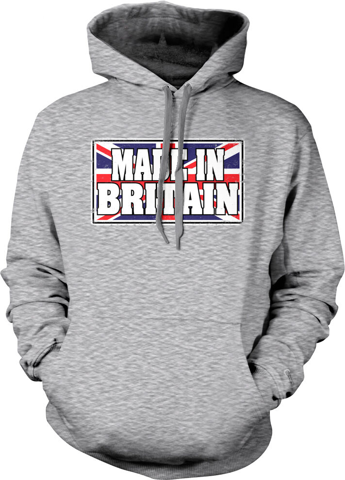 Made In Britain Flag colors British Pride Country Born From GB Hoodie Sweatshirt