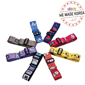 BT21-Character-Luggage-Belt-Carrier-Belt-7types-Official-K-POP-Authentic-Goods