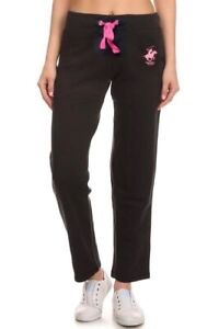 Beverly Hills Polo Club Women/'s Workout Sweatpants Style# 920