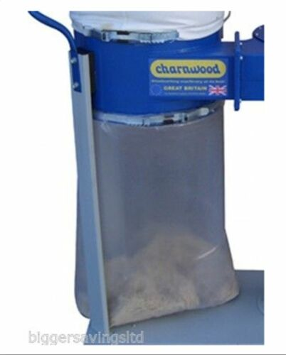 """CHARNWOOD W690PB DUST EXTRACTOR EXTRACTION HEAVY DUTY COLLECTION BAGS 24/"""" X 36/"""""""