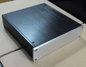Full-aluminum-enclosure-preamp-case-headohone-amplifier-chassis-L-2205