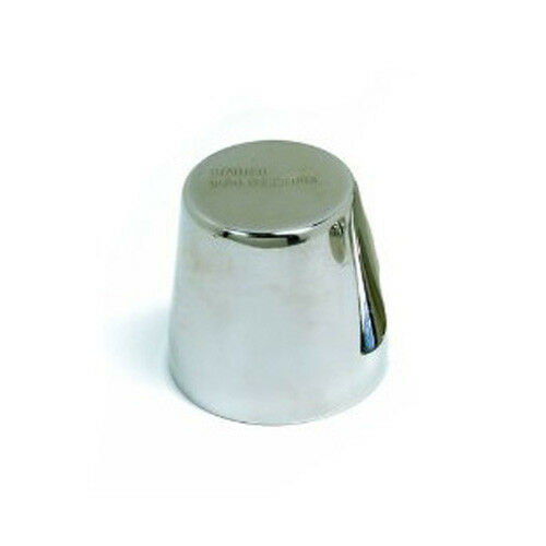 """Ateco Rum Baba Mold 2/"""" Tall Stainless Steel"""