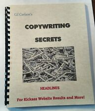 Copywriters Secret Book of How to Write Headlines – Boost Website Marketing Sale