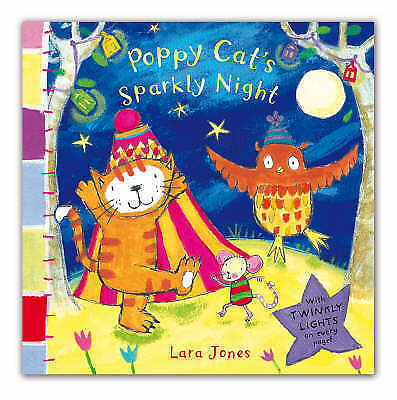 "1 of 1 - ""VERY GOOD"" Poppy Cat's Sparkly Night, Jones, Lara, Book"