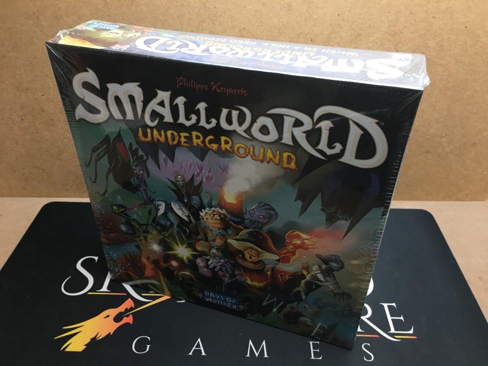 Small World Underground the Board Game - Days of Wonder (Genuine Sealed)